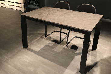 Стол CONNUBIA/Calligaris - модель BARON 130(+60)x85 Laminato Bronze Oxide