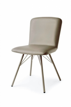 Стул CONNUBIA/Calligaris - модель EMMA Scuba TAUPE