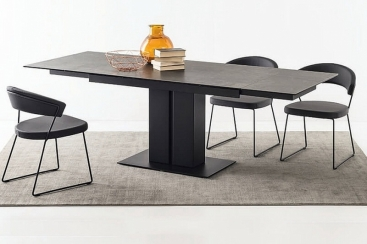 Стол CONNUBIA/Calligaris - модель PEGASO 150(+40+40) х 90  Ceramic