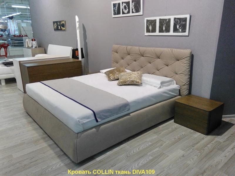 Кровать B. Form.s - Модель COLLIN 180 x 200 ткань DIVA