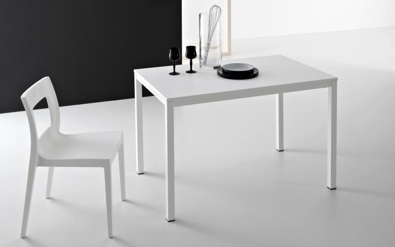 Стол Pointhouse - модель LIGHT 130 (+50) x 85 Rovere Grigio/Olmo Perla