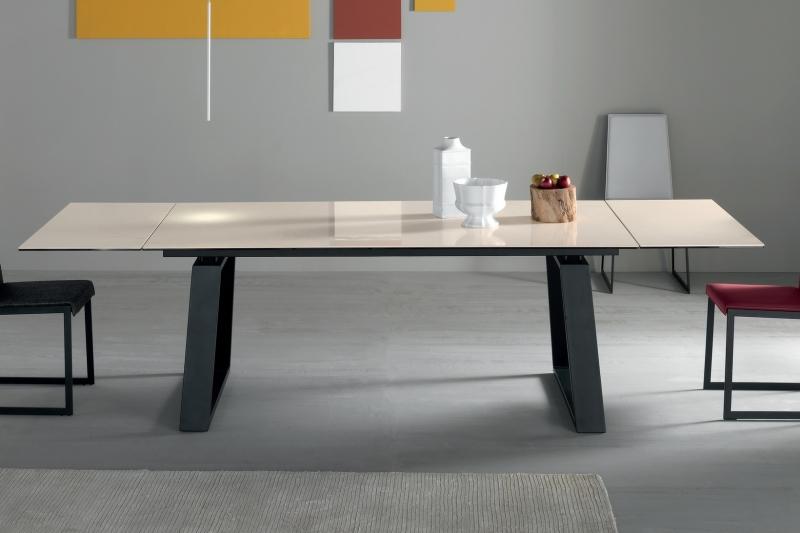Стол COM.P.AR - модель MANGO 200(+50 +50) x 100 Ceramic