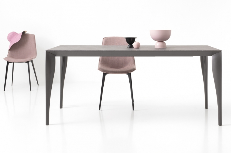 Стол POINTHOUSE - модель MARYLIN 140(+60) x 90 Laminato CLEAF