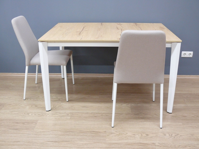 Стол CONNUBIA/Calligaris - модель PENTAGON M 130 (+50) x 90 NATURAL OAK