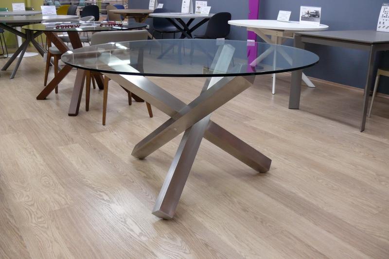 Стол круглый MARONESE ACF - модель SETA ROTONDO  Ø135
