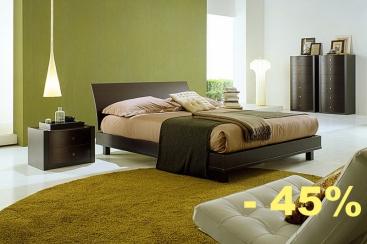 Кровать FRATELLI ROSSETTO - модель MASTER 160x200 Rovere Moro