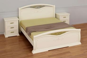 Кровать MARONESE ACF - коллекция AFRODITA 180x200 (изножье с ковкой)