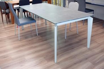 Стол MIDJ - модель AKIL 140(+60)х90 ceramic Piombo