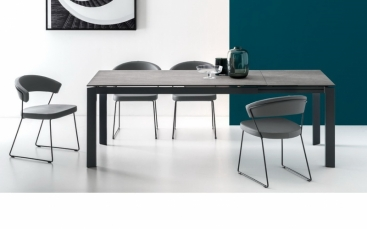 Стол CONNUBIA/Calligaris - модель BARON Ceramic 130(+60) x 85 8B
