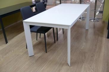 Стол CONNUBIA/Calligaris - модель BARON 130(+60)x85 FENIX NTM® WHITE