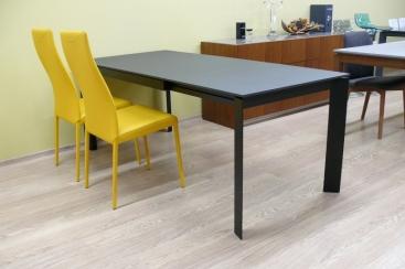Стол CONNUBIA/Calligaris - модель BARON 130(+60) x 85 Laminato  SLATE GREY