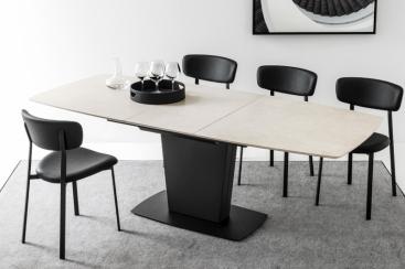 Стол CONNUBIA - модель ATHOS 180(+50) x 100  Ceramic
