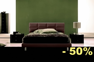 Кровать FRATELLI ROSSETTO - модель DIAMANTE 160x195 Testa Di Moro