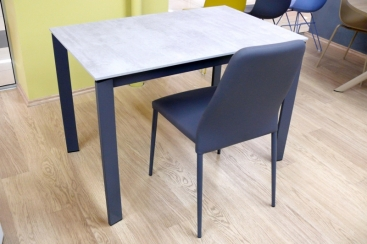 Стол CONNUBIA/Calligaris - модель EMINENCE M 110(+45) х 70  лам. BETON