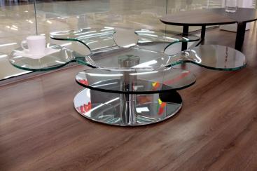 Стол журнальный COM.P.AR - модель FLOWER Ø103xH26