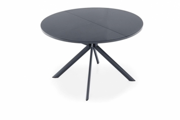 Стол CONNUBIA/Calligaris - модель GIOVE Ø120 +45 (165x120) ceramic Stone Grey