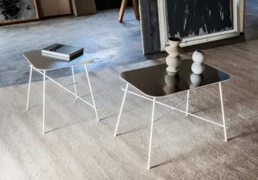 Стол кофейный MIDJ - модель WALTER 40x40 / 40x60