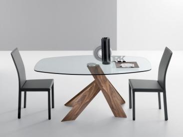 Стол COM.P.AR - модель MOA 160 x 105 Noce Canaletto