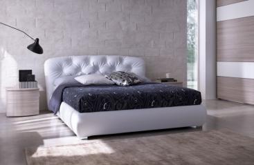 Кровать MAB Home - модель PEOPLE 180 x 200 эко-кожа Bloom