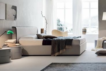 Кровать MARONESE ACF - модель RIVER 180x200 ткань/эко-кожа