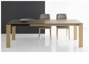 Стол CONNUBIA/Calligaris - модель SIGMA Ceramic 160(+60) х 90