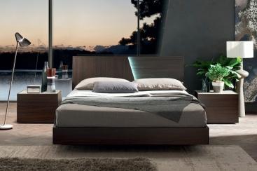 Кровать MARONESE ACF -модель SLIDE 180X200 Rovere Brunito