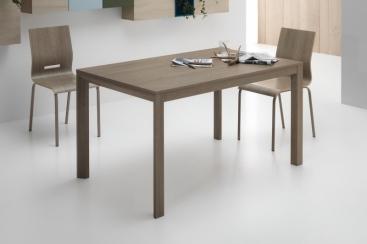 Стол Pointhouse - модель  FLY 110 (+50) x 70 Rovere Grigio/Olmo Perla