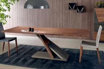 Стол COM.P.AR - модель ZED 240 x 105 Fisso Noce Canaletto