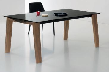 Стол COM.P.AR - модель TOP Ceramic /Wood 180x100 (+60)