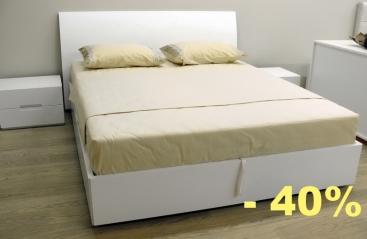 Кровать MARONESE ACF - модель VELA 180x200 Frassino Bianco