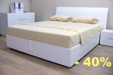 Кровать MARONESE ACF - модель VELA 160x200 Frassino Bianco