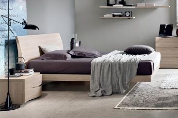 Кровать MARONESE ACF - модель VIKI 160x200 Rovere Style/Frassino Bianco